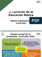 Propuesta Curricular. Educación Básica