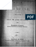 Guía de Museo Nacional. Sala de aves chilenas