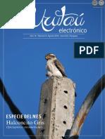 URUTAU ELECTRONICO - No 6 - AGOSTO 2016 - ANO 14 - GUYRA PARAGUAY - PORTALGUARANI