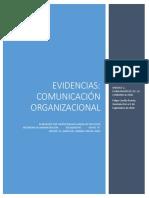 Actividades de Aprendizaje Comunicacion Organizacional