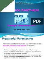 FORMAS FARMACÉUTICAS INYECTABLES