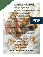 Oracion a La Santisima Trinidad