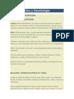 Clases de Tica y Deontolog A