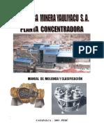 Manual Molienda y Clasificacion Minerales