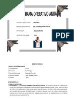Poa 2016texto Del Distrito