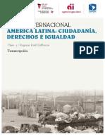 Conferencia Eugenio Raúl Zaffaroni