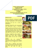 Tamales y Lechones Costos