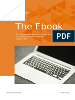 eBook 4 Template - Orange