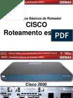 Aula Comandos Roteamento Estatico Cisco