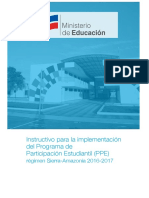 Instructivo PPE Sierra Amazonia 2016 2017