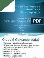 Tratamento de Resíduos Da Indústria de Galvanoplastia