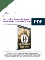 Everybody's Gone to the Rapture Multilenguaje (Español) (PC-GAME) - IntercambiosVirtuales