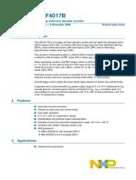Data Sheet-IC 4017-NXP Philips.pdf