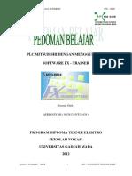 Modul Training PLC Di AAU Yogyakarta #1