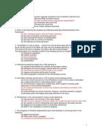 APUSH Semester Exam (with answers)