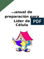 Manual de Preparacion de Lideres Para Celulas