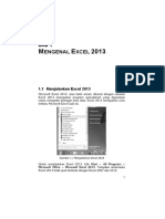 Belajar Otodidak Microsoft Excel 2013