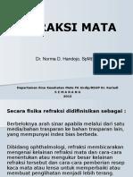 Bahan Kuliah Refraksi Dr Norma April 2012