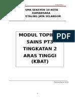 Modul Topikal Kbat Sains Tingkatan 2-2