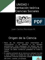 Unidad 1 Fundamentos de Las Ciencias Sociales