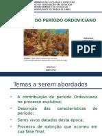 Um Estudo Sobre o PerÃ-odo Ordoviciano