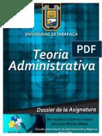 Teoria Administrativa (Dossier 2016, UTA, Arica, Chile)