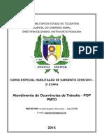 APOSTILA DE ATENDIMENTO DE OCORRÊNCIAS DE TRÂNSITO 2º Mod.pdf