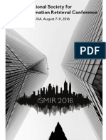 2016 Proceedings ISMIR