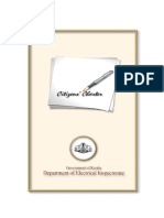 Citizens Charter-Electrical Inspectorate
