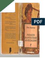 ANDERSON, Perry - Passagens Da Antigüidade Ao Feudalismo (Livro Completo)