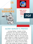Sjnp Altar Servers Ministry Seminar