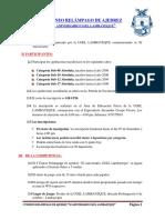 Torneo Ugel Lambayeque