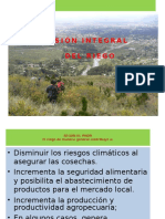 Visión Integral Del Riego