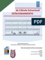 Memoria de Calculo Estructural Estacionamiento