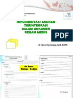 Implementasi Asuhan Terintegrasi Dalam Dokumen Rekam Medis,2 - Dr. Djoni D