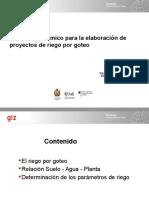 Presentación Diseño Agronomico