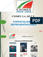Presentacion y c.v. Cnimex s.a. de c.v. Representaciones(1)