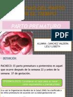Expo Parto Prematuro LESLY