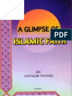 A GLIMPSE OF islamic faith