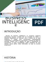 Business Intelligence - Apresentacao