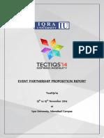 Event Partnership Proposition - Tectiqs 14