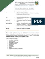 INFORME tecnico de proyecto de extencionista FEBREO
