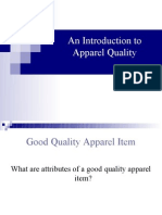 An Introduction to Apparel Quality