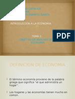 Introduccion a La Teoria Economica