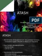 Apresentação ATASH - Atendimento Ambulatorial em Sexualidade Humana