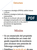 Orientación Misión Visión