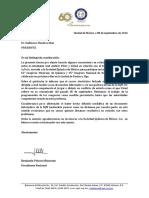 Carta de la SQM