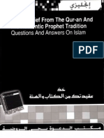 Get Your Belief The Qur-an And The Authentic Prophet Tradition