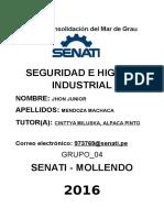 Seguridad e Higiene Industrial Segunda Unidad