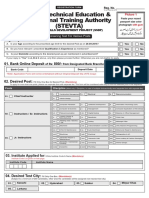 Application-Form STEVTA Latest Www.jobsalert.pk 2